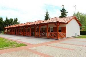 domki szeregowe w ośrodku bungalowy